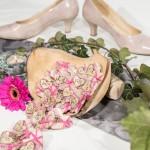 Mehrere Hochzeitsanstecker