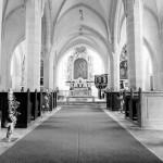 Birkensteher in der Kirche